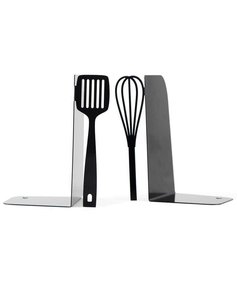 Kitchen Bookends: Metal Kitchen Bookends