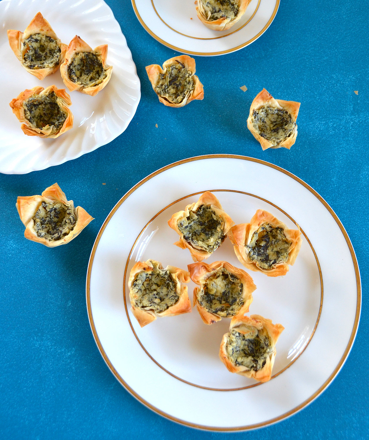 Spinach and Artichoke Phyllo Cups | Real Simple
