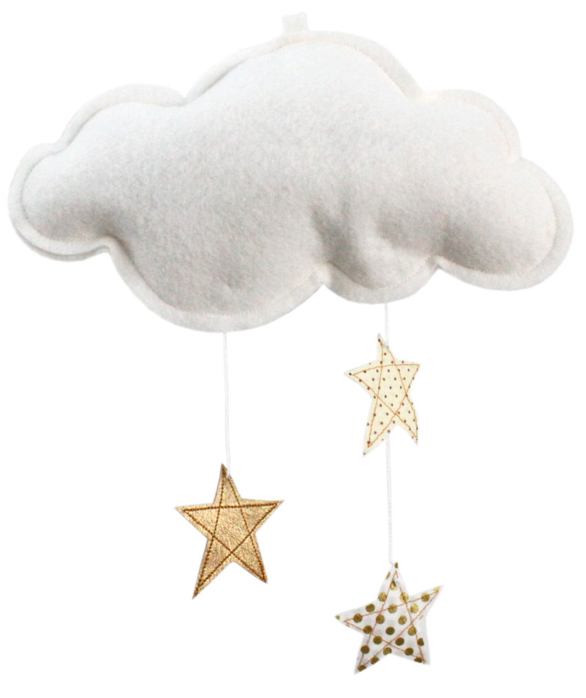 gold-stars-white-felt-cloud-mobile