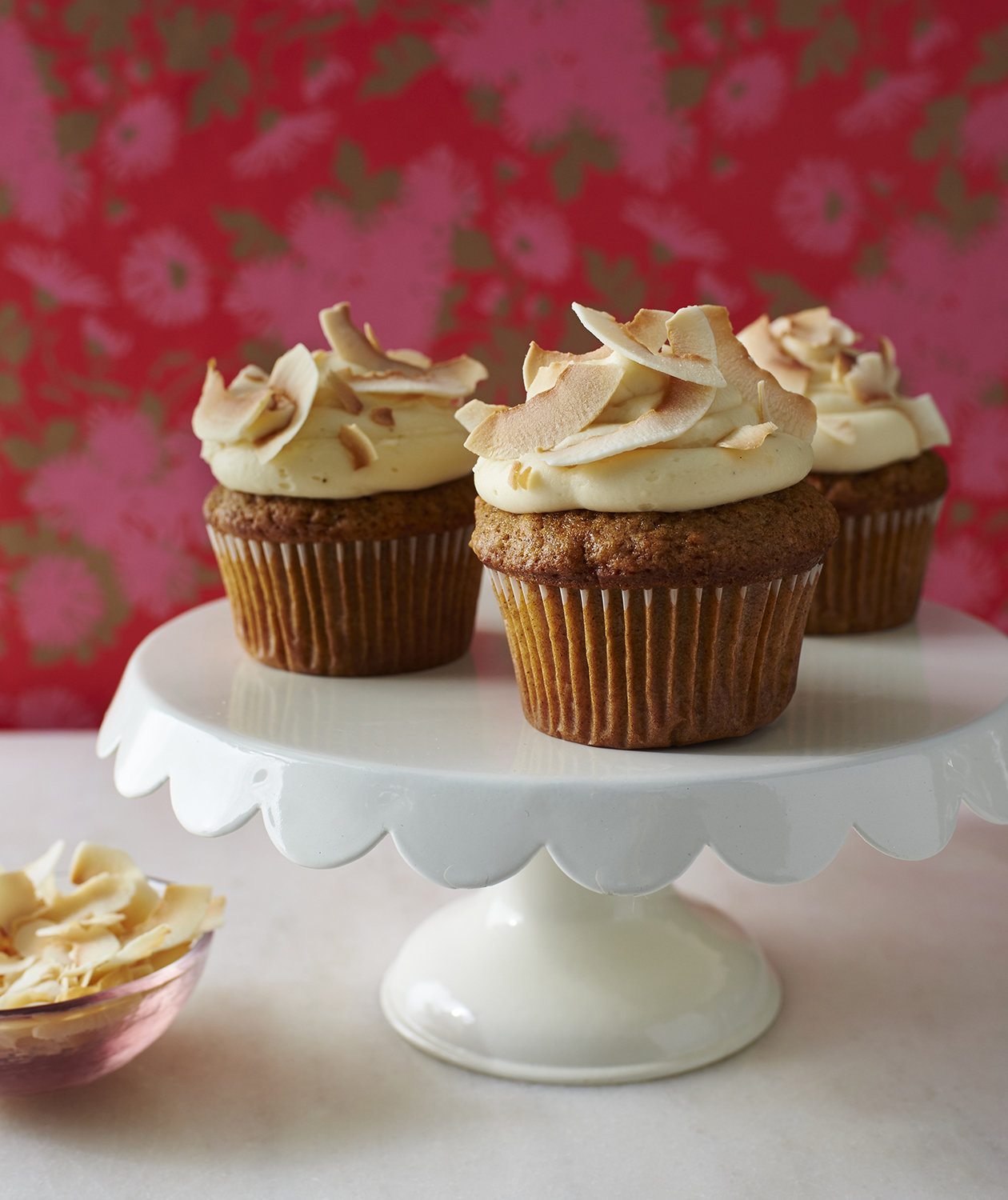 Carrot Cake Cupcakes With Browned Butter Cream Cheese ...