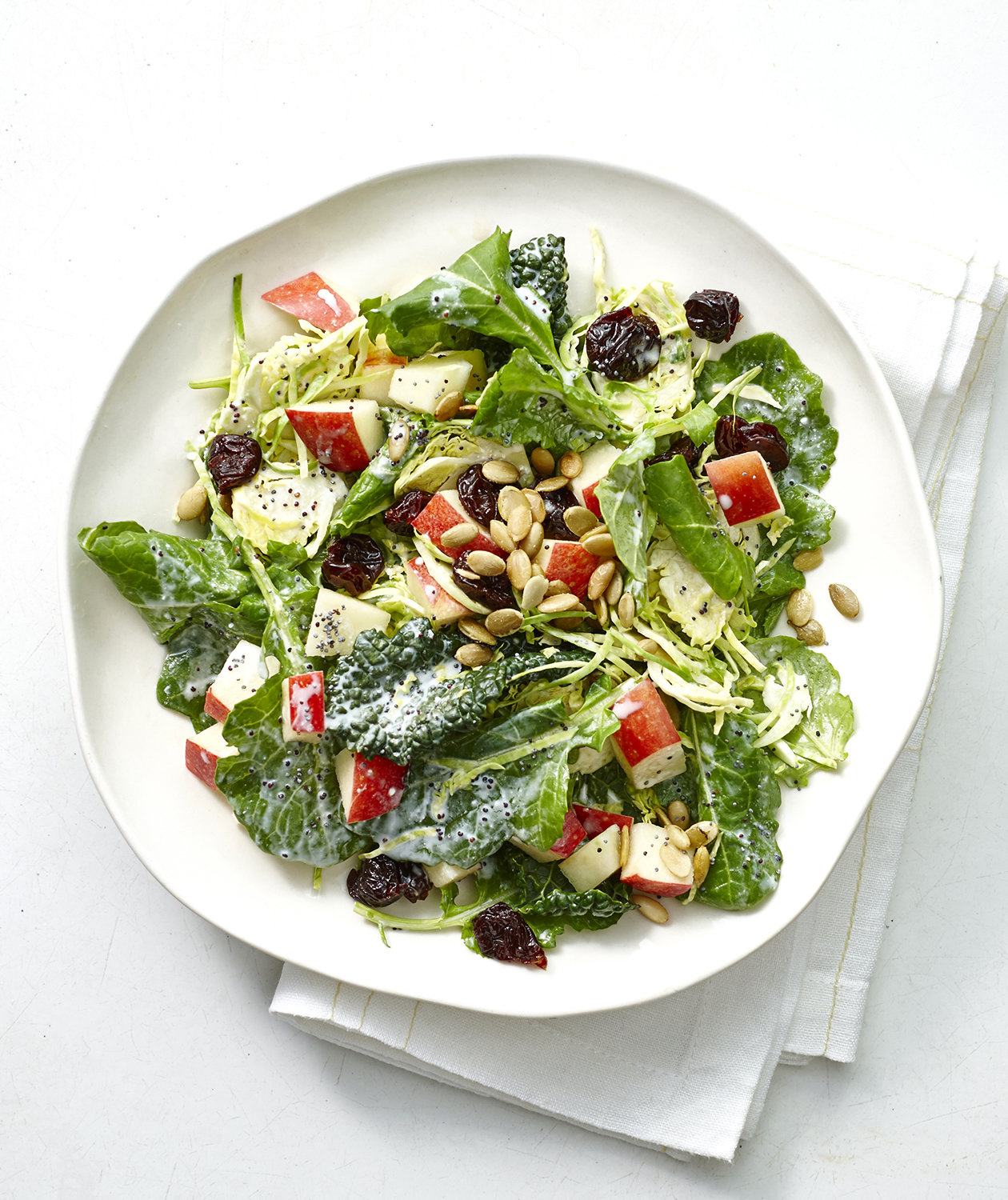 brussels-sprouts-kale-salad-poppyseed-dressing