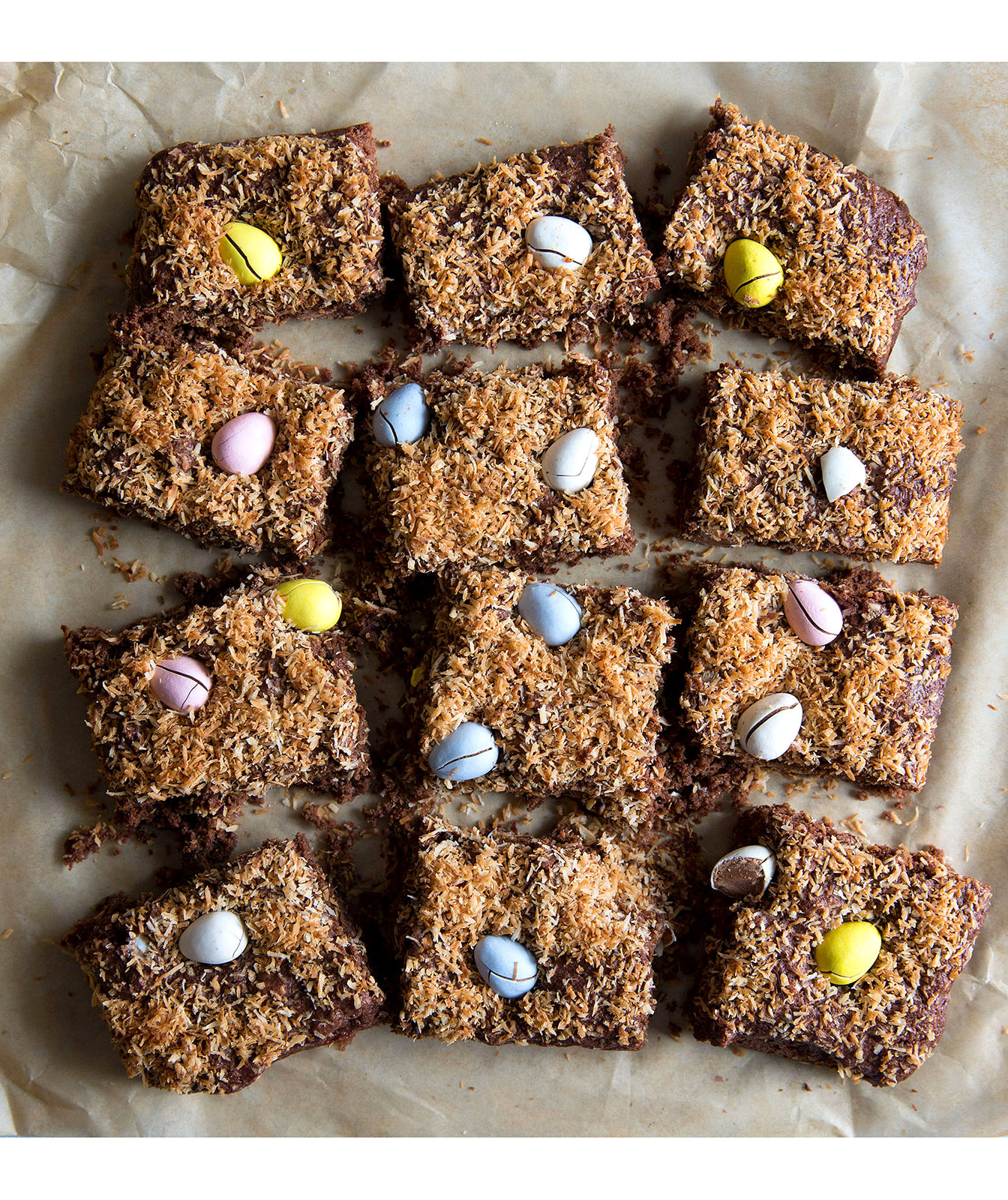 coconut-cadbury-egg-brownies
