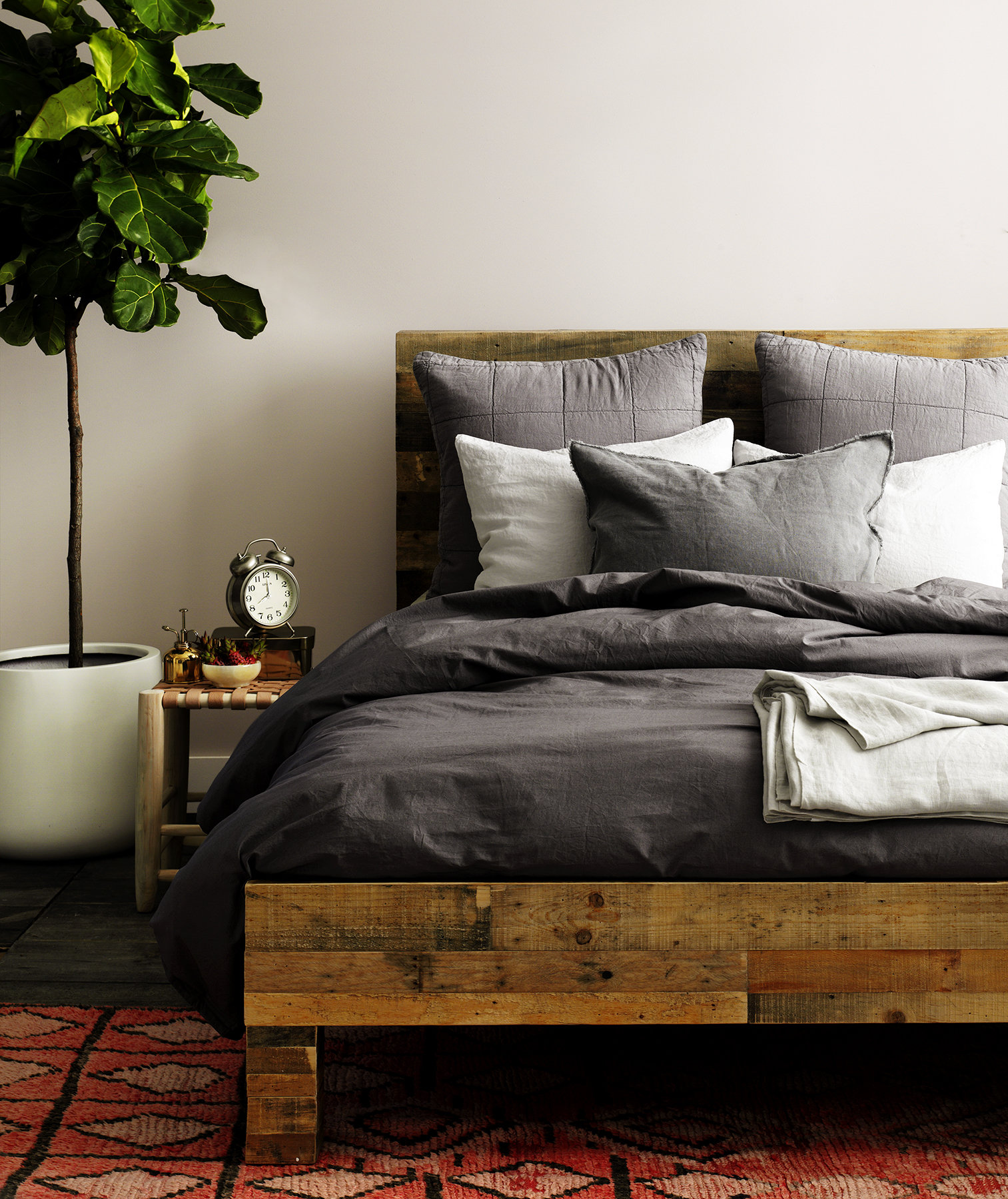 How to make the most comfortable bed real simple for Best color bed sheets