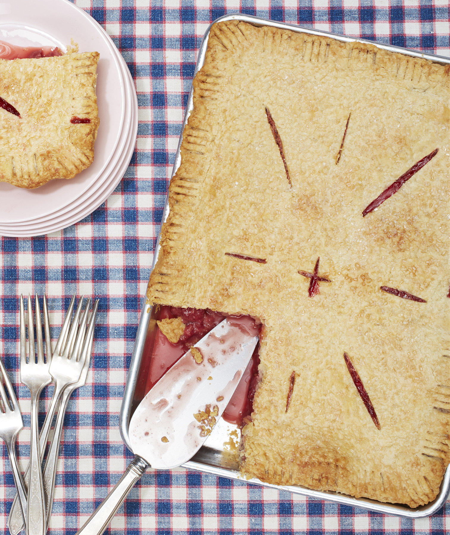 strawberry-ginger-slab-pie