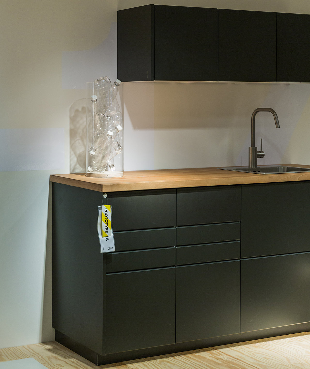 Ikea Kitchen Wood Cabinets: Ikea Is Turning Recycled Bottles Into Kitchen Cabinets