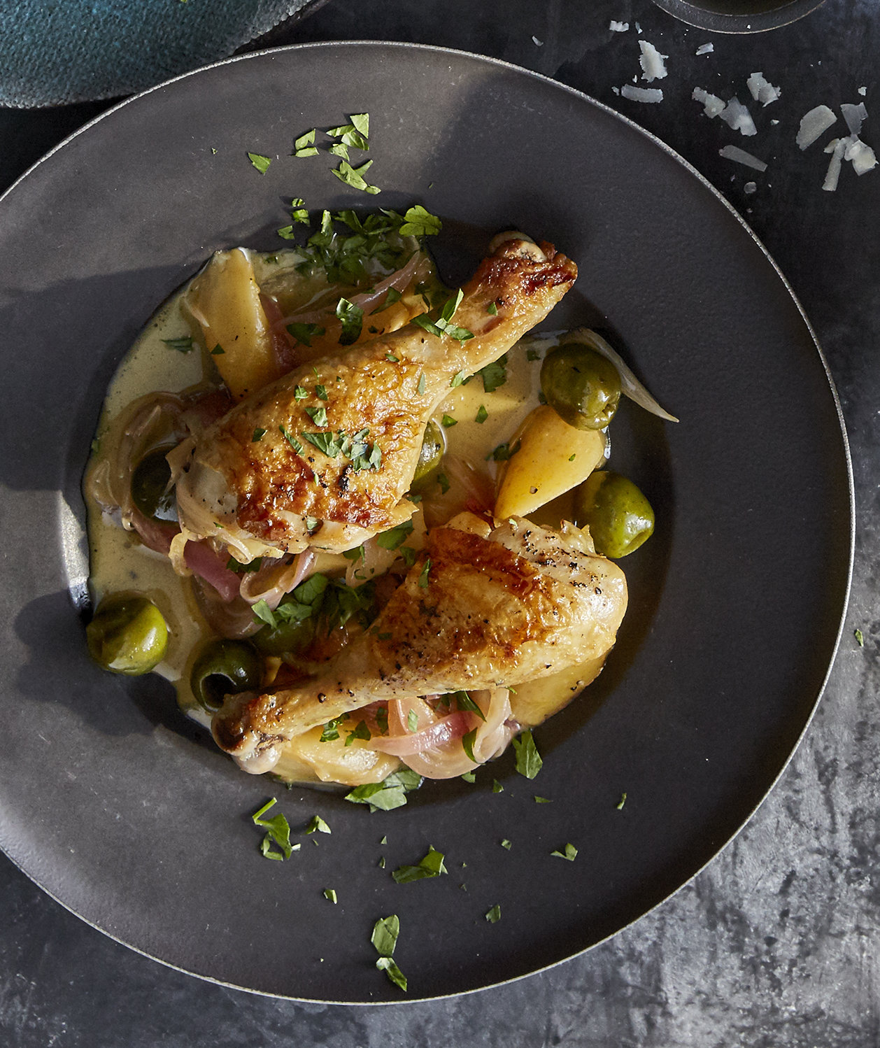 citrus-braised-drumsticks-parsnips