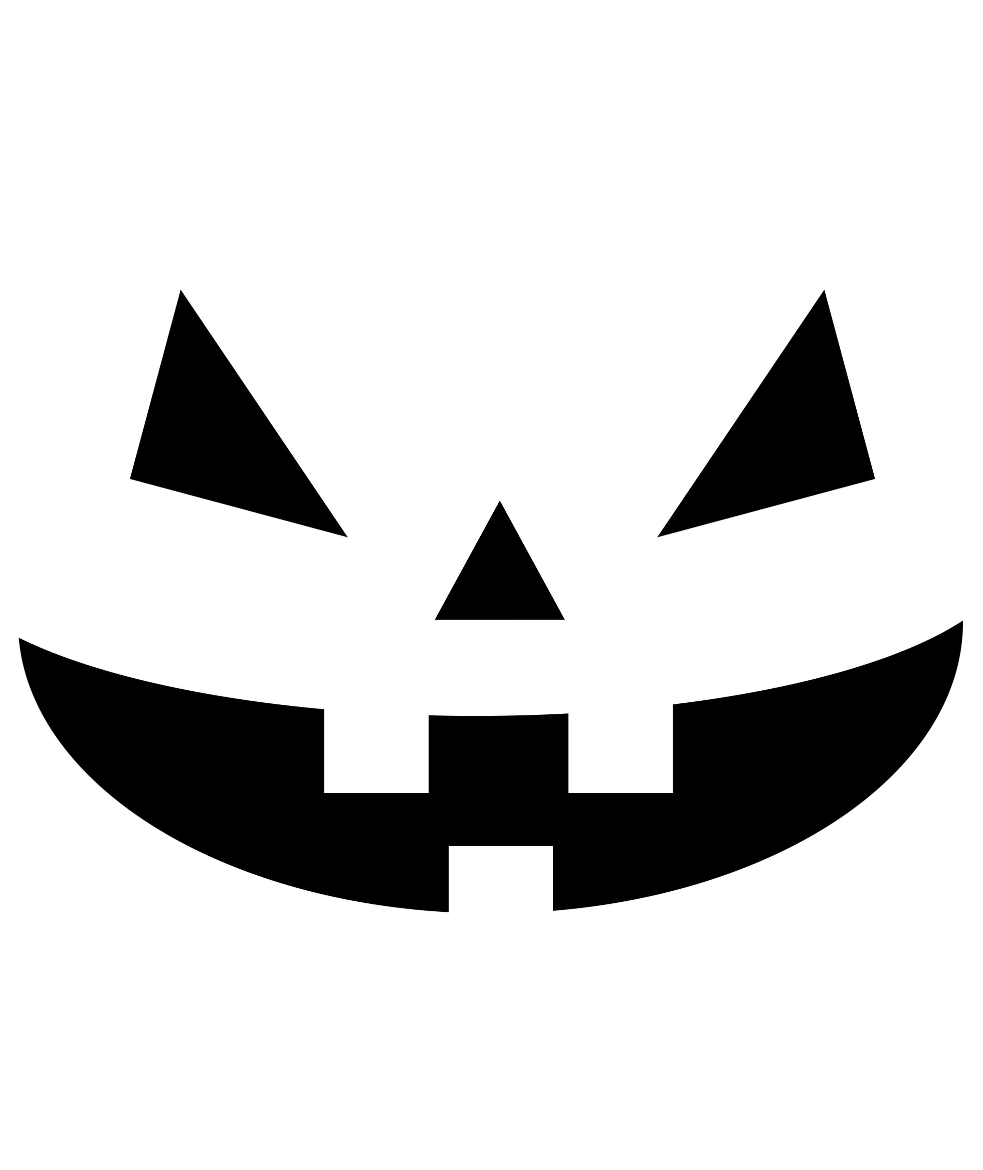 pumpkin templates free - 8 pumpkin carving stencils real simple