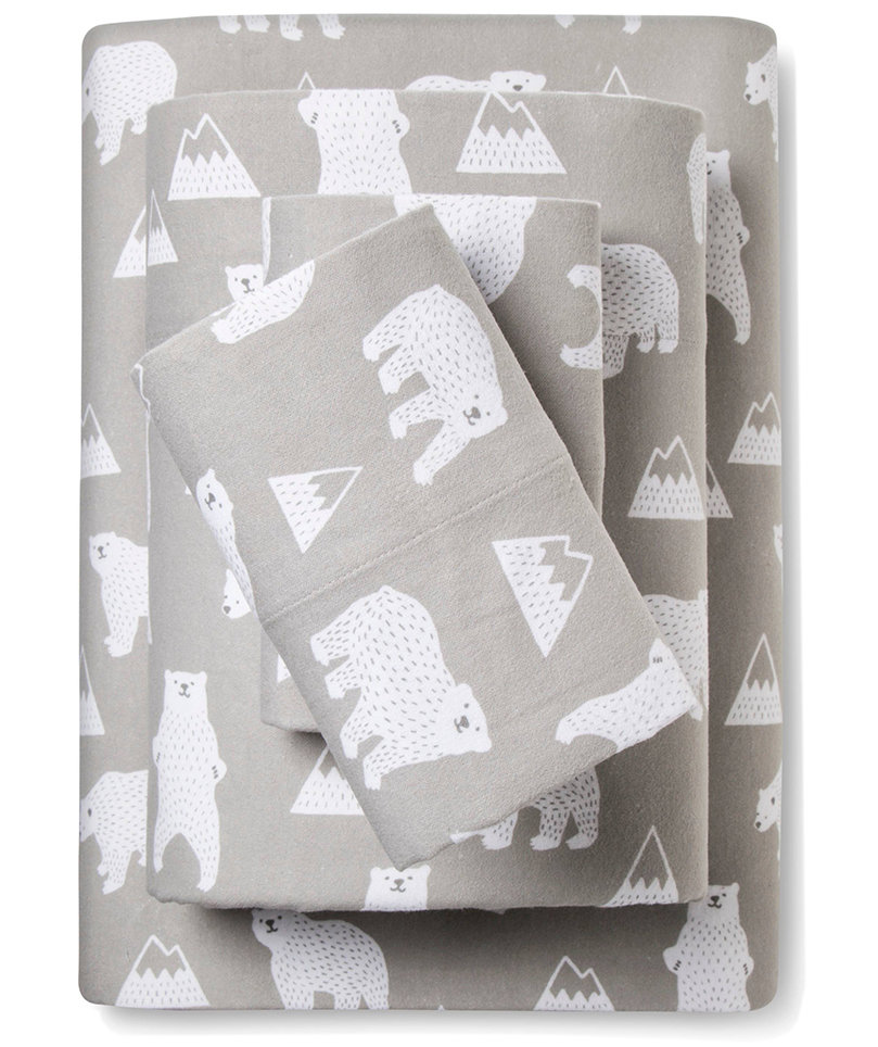 polar-bear-flannel-sheets