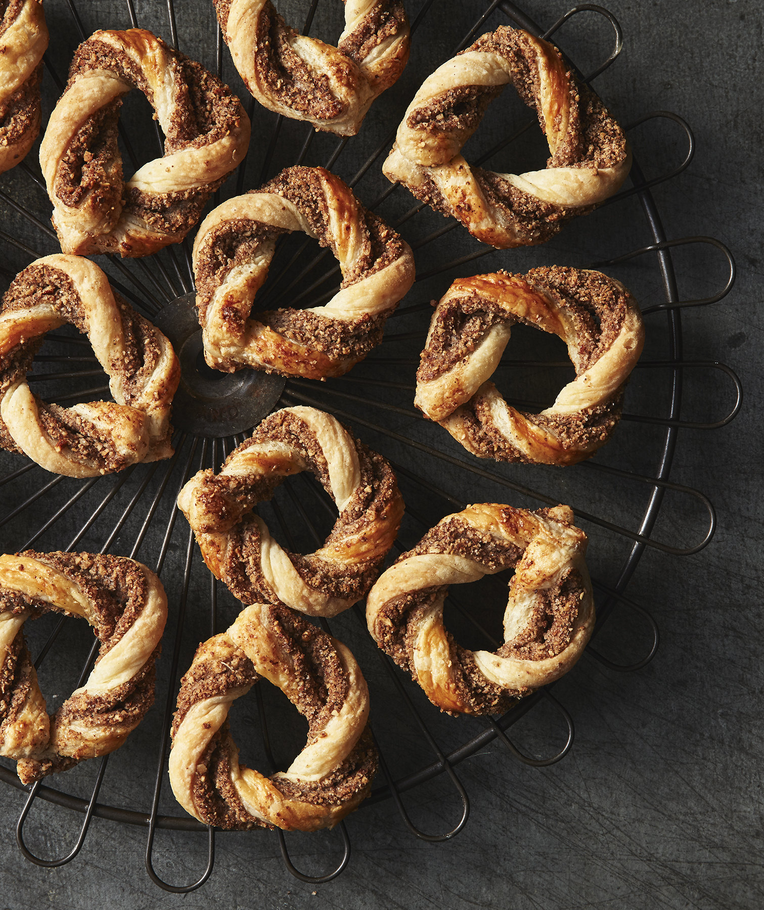 puff-pastry-spiced-almond-wreaths