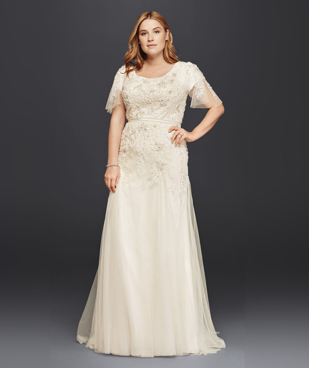 Top 5 Gorgeous Full Figured Wedding Gowns Strapless