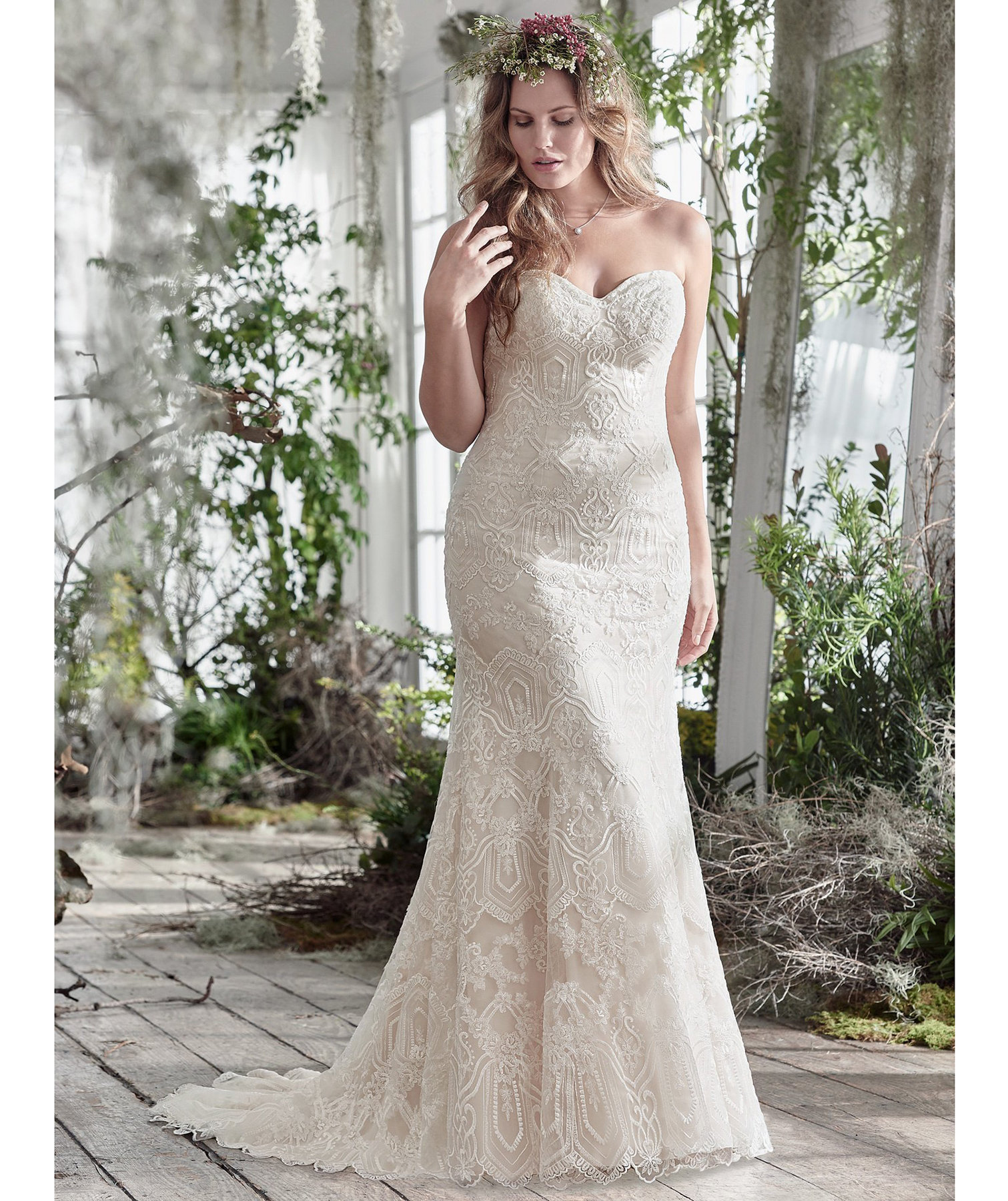 Maggie sottero fredricka dress wedding dresses if you re for Real simple wedding dresses