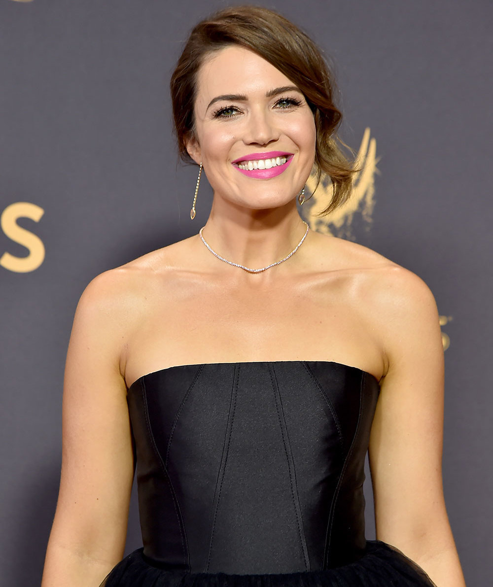 Mandy moores emmys look included this 9 nail polish real simple baditri Image collections