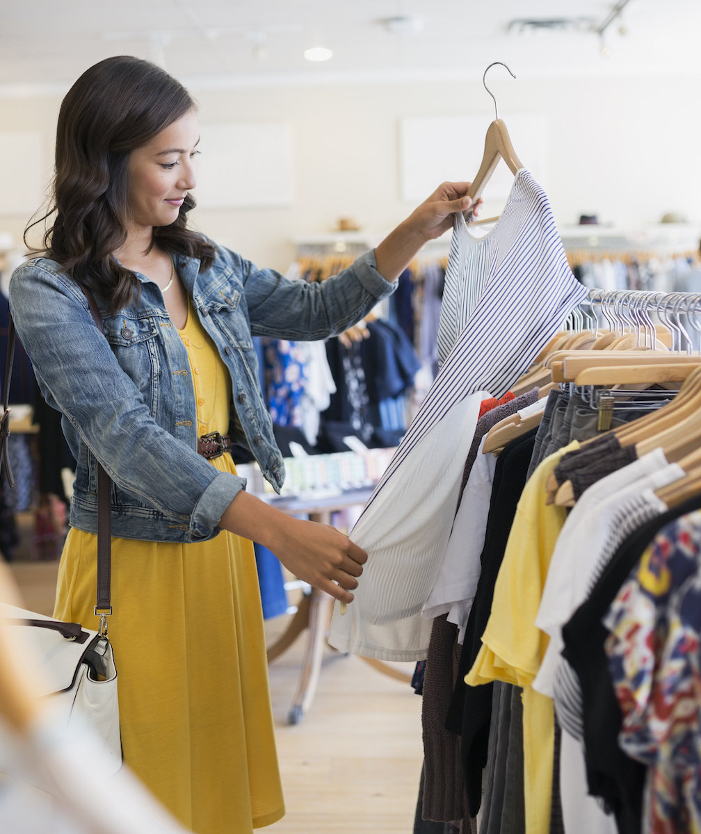 Clothing store sites: a selection of sites