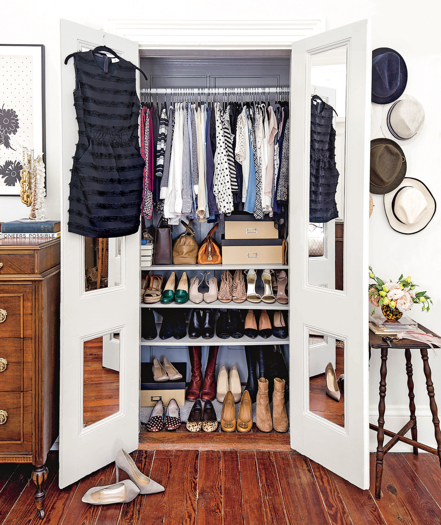 5 Genius Organization Tips To Steal From The Tist Closets Real Simple