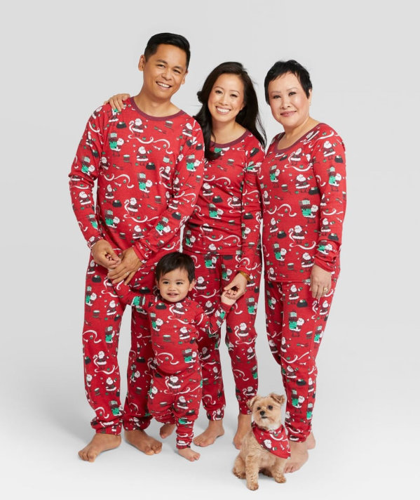 9f6907f29 The Best Matching Family Christmas Pajamas for 2018