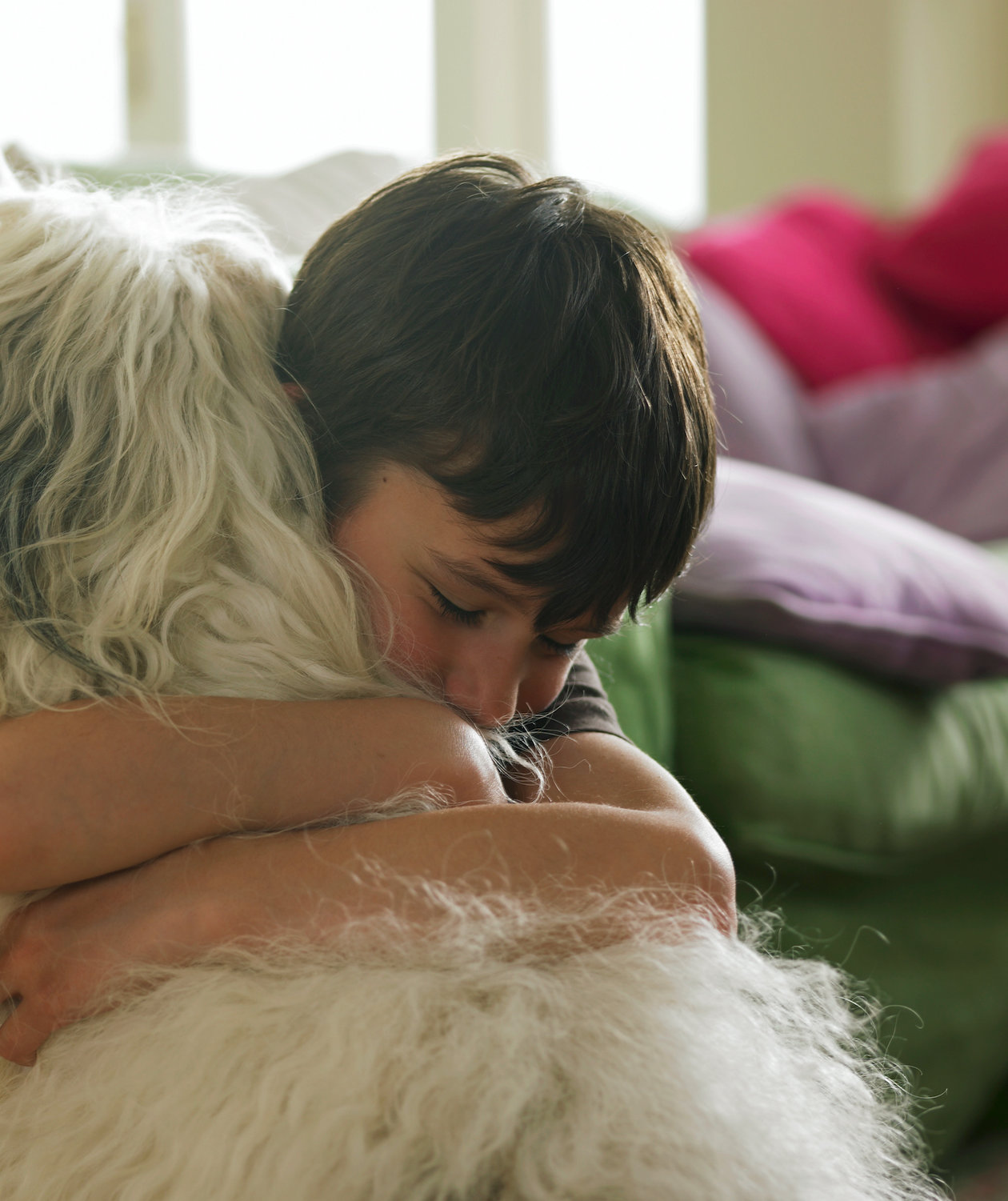 boy-hugging-dog