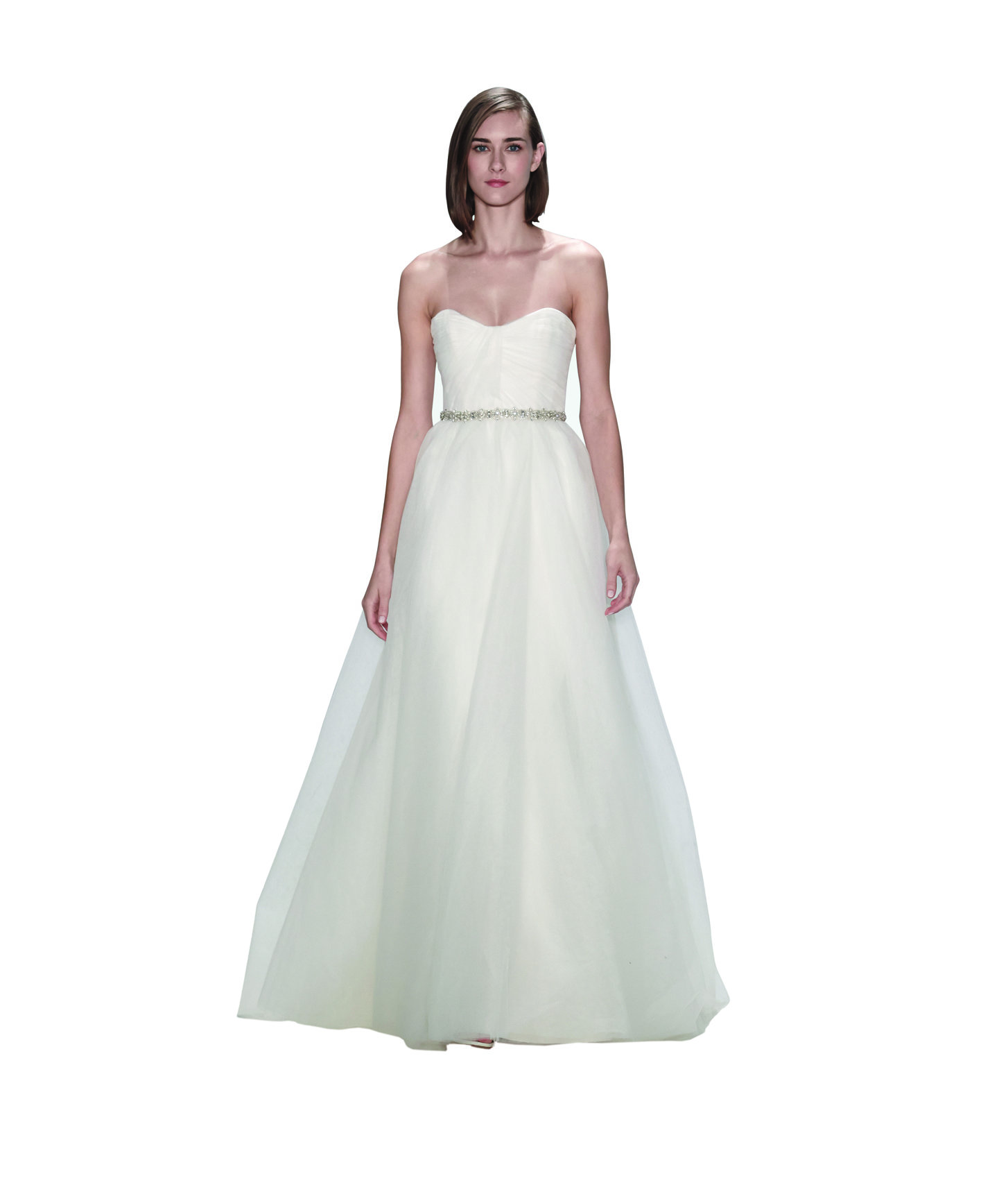 Amsale piper stunning off the rack wedding dresses for Real simple wedding dresses
