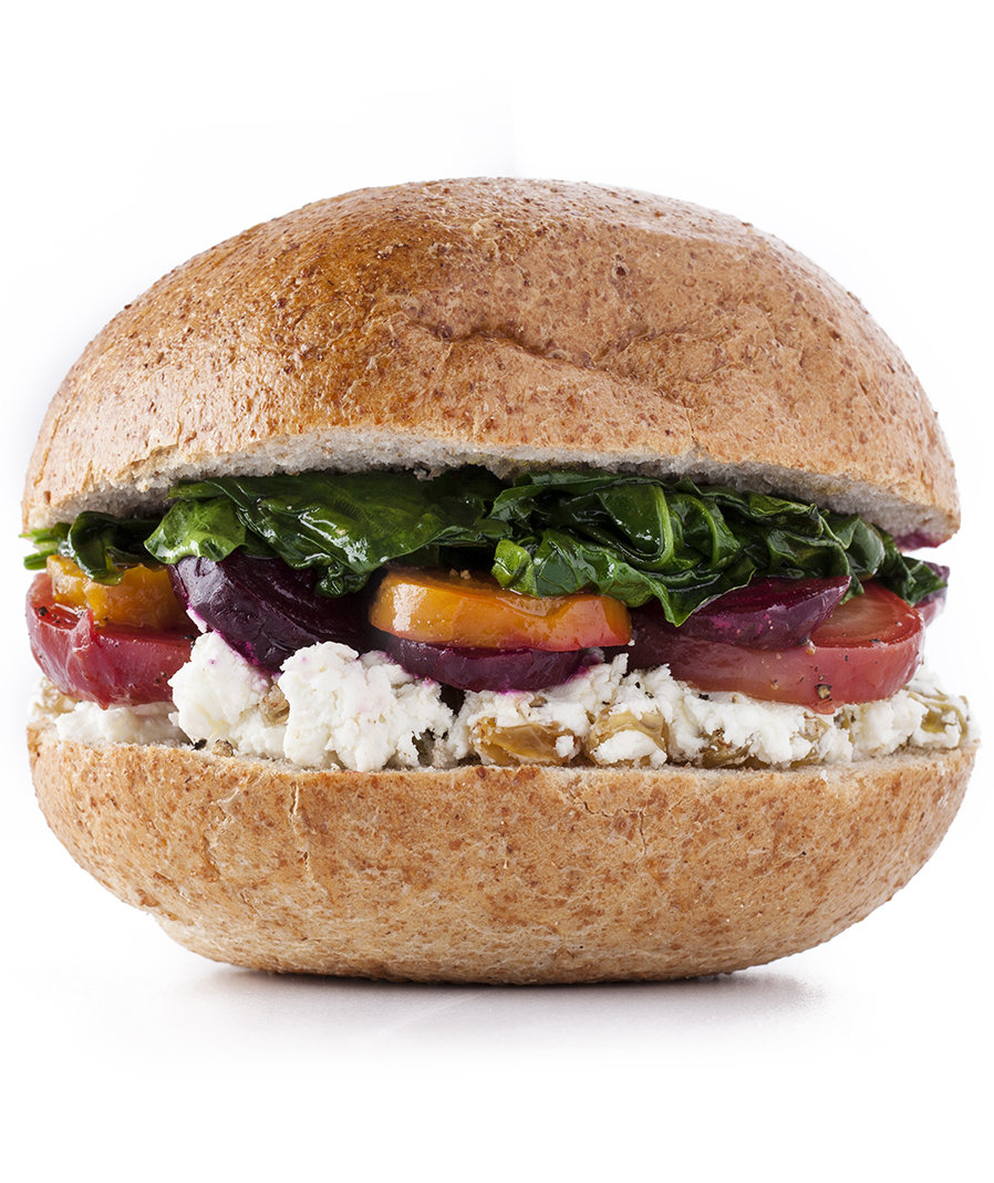 beets-spinach-cheese-sandwich