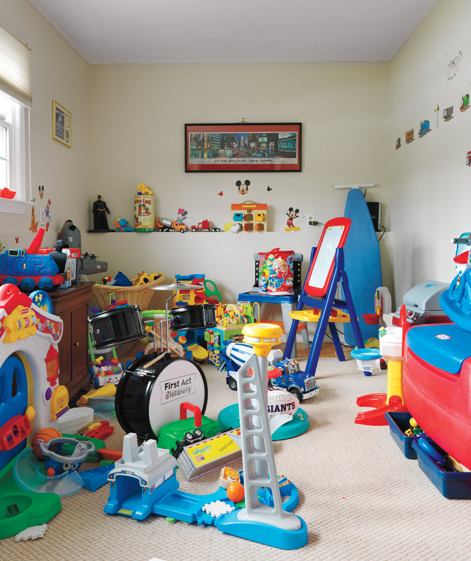 Messy Playroom: A Room-by-Room Makeover For An
