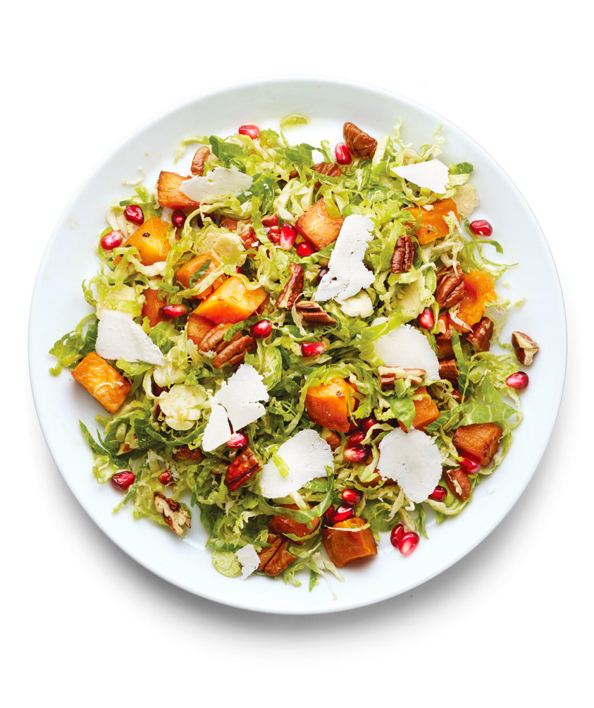 brussels-sprouts-sweet-potato-pomegranate-seed-salad