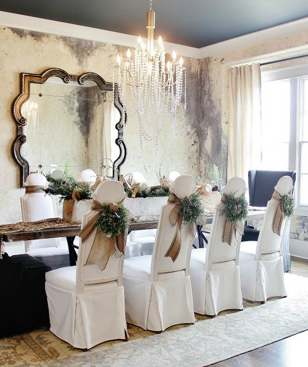 Burlap Bow 7 Ways To Decorate Your Dining Chairs For The
