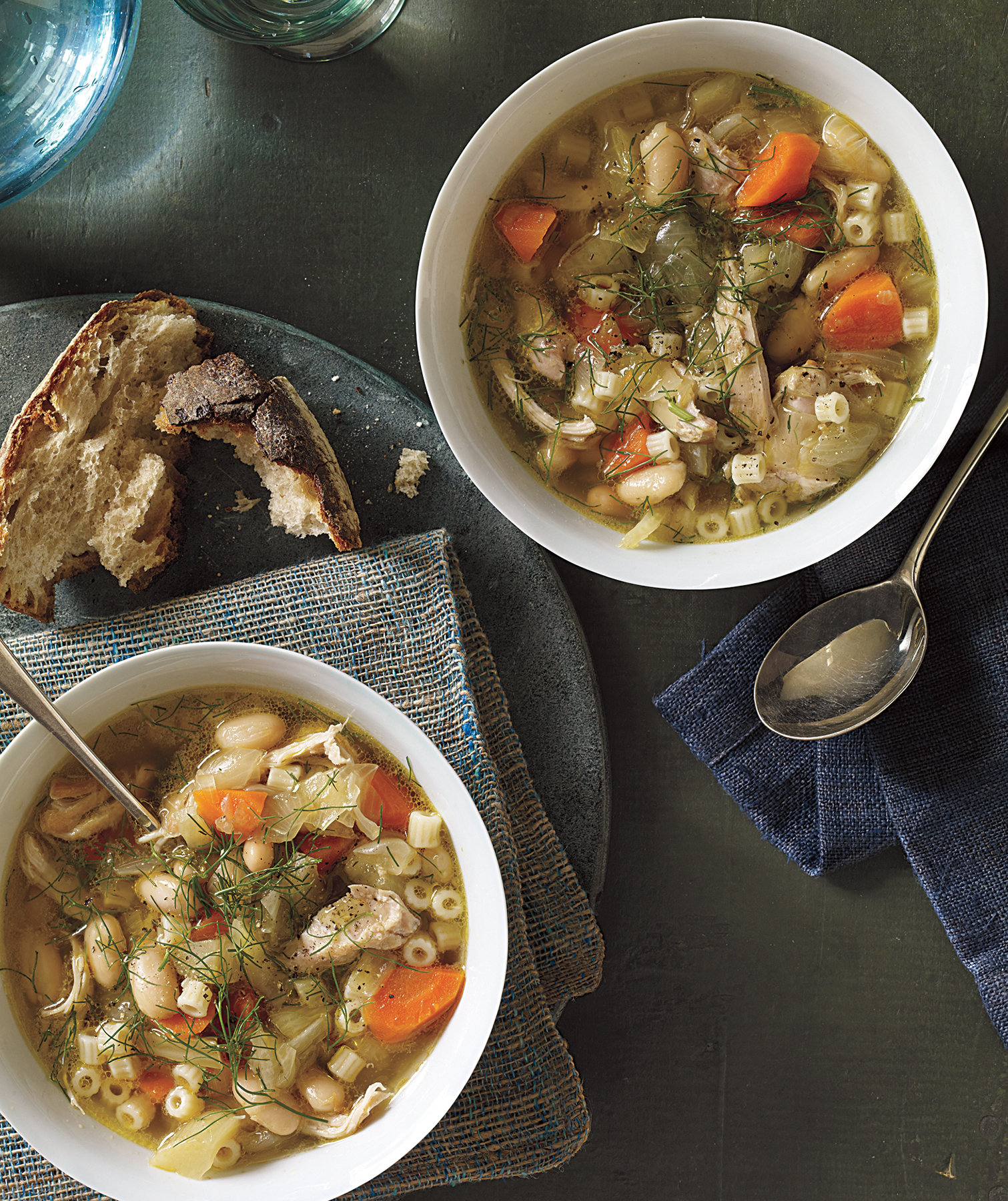 Slow-Cooker Chicken, Fennel, and White Bean Soup Recipe ...