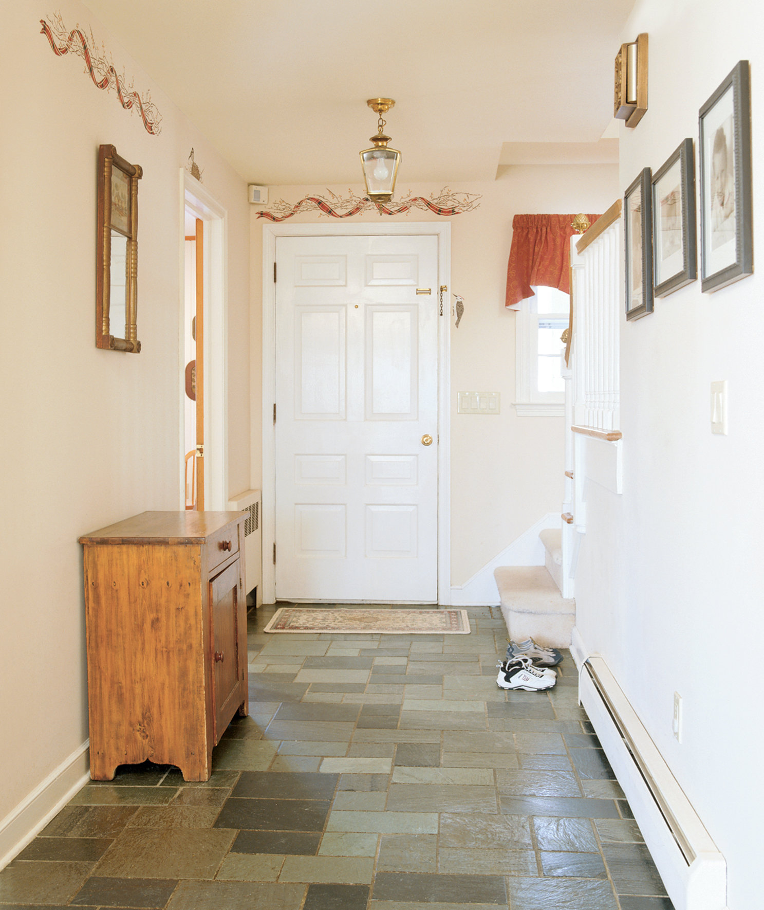 Room Before Foyer : Before and after room makeovers real simple