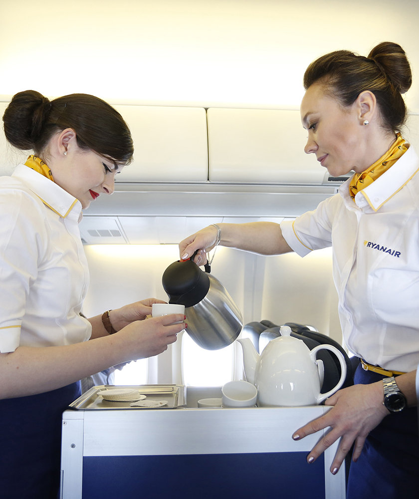 flight-attendants-serving-coffee