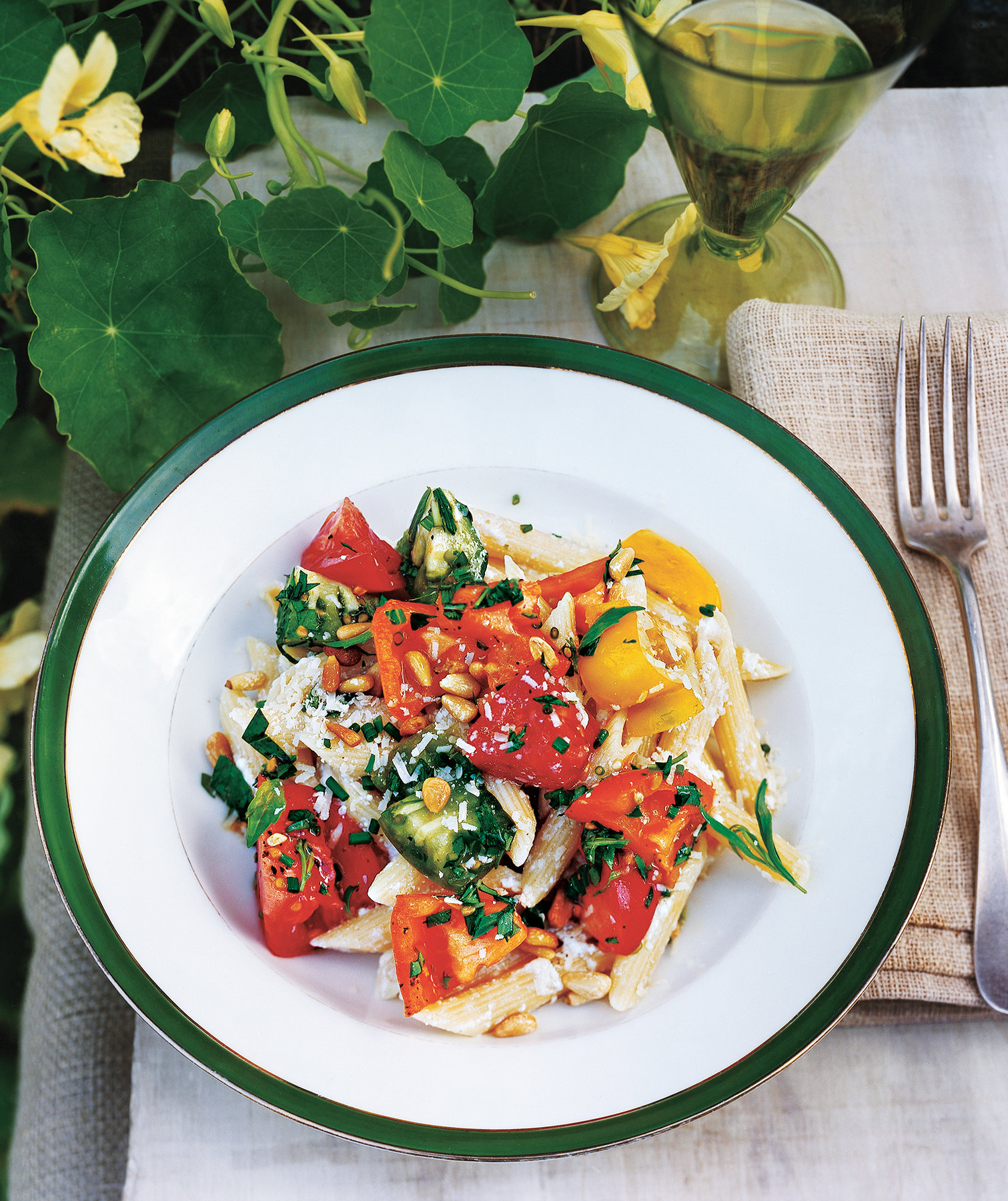 Rebecca Miller's Pasta With Ricotta and Heirloom Tomatoes Recipe ...