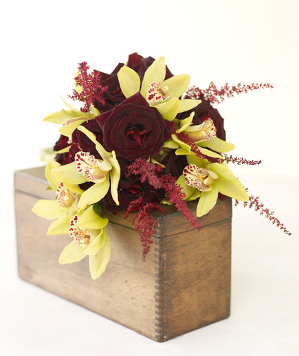 Kitchen Bouquet Substitute: Wedding Bouquets By Color: Orange And