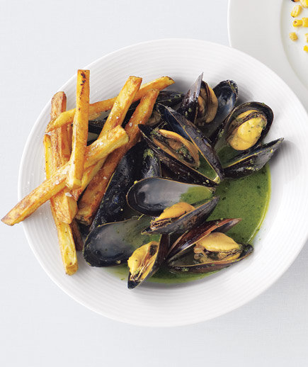 how to clean mussels video