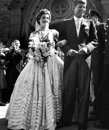 Jacqueline Kennedy Wedding Gown: Jacqueline Bouvier Kennedy
