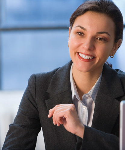 smiling-business-woman
