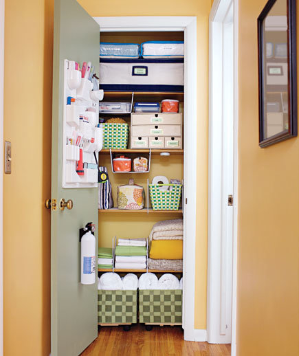 Linen Closet Get Organized With These Home Makeover