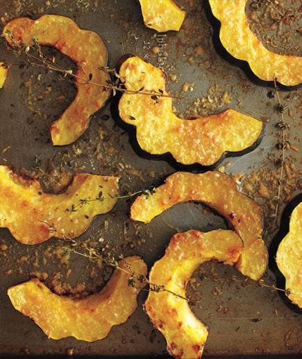 Parmesan-Roasted Acorn Squash | 16 Squash Recipes | Real Simple
