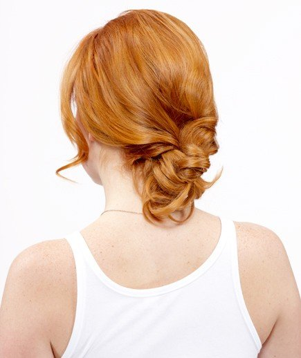 Strange Easy Buns And Braided Hairstyles Real Simple Hairstyle Inspiration Daily Dogsangcom