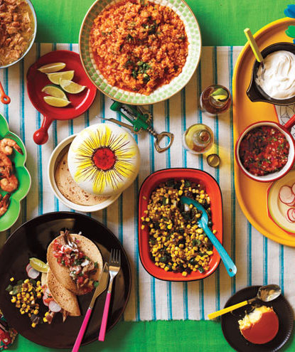 taco-party-spread