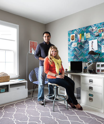 9 Craft Room Makeover Ideas - Real Simple