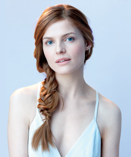 Enjoyable Side Fishtail Braid 6 Easy Braided Hair Looks Real Simple Hairstyle Inspiration Daily Dogsangcom