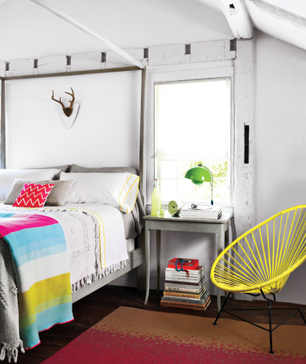 vivid dreams decorating with neon colors real simple
