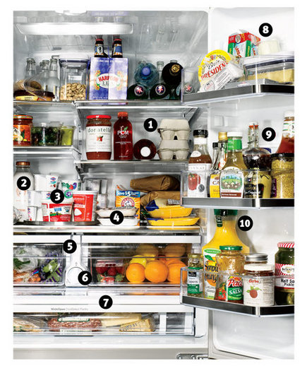 How To Organize Your Refrigerator Drawers And Shelves