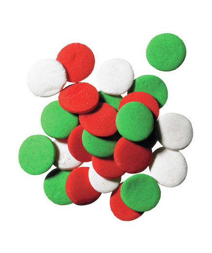 Sugar disks 12 essential holiday cookie decorating for Decorating quins