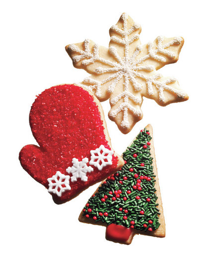 Strange 7 Christmas And Holiday Cookie Decorating Ideas Real Simple Easy Diy Christmas Decorations Tissureus