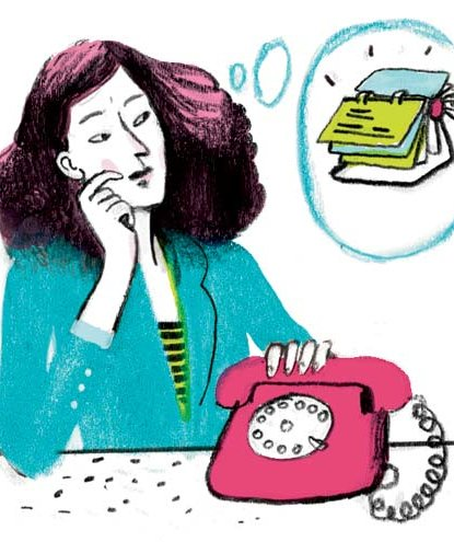 illustration-woman-phone-rolodex