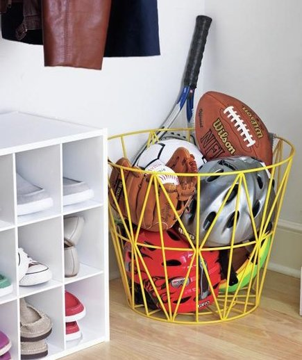 Take The Floor Organize The Entryway Real Simple