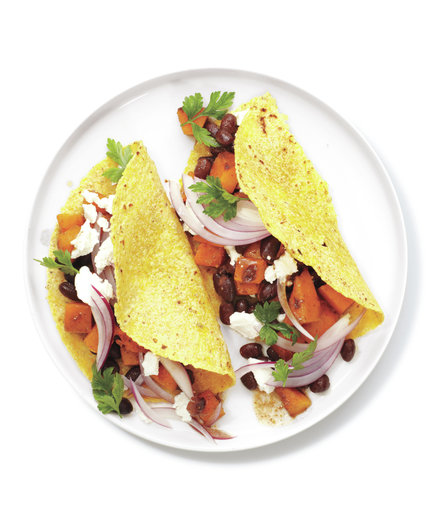 Butternut Squash and Bean Tacos | 10 Easy Butternut Squash Recipes ...
