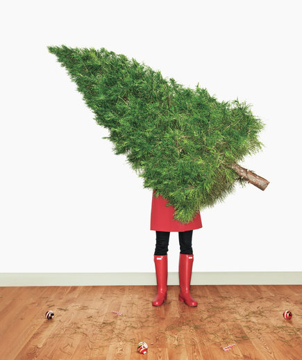 woman-holding-christmas-tree