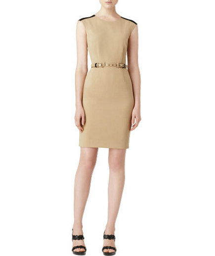 stretch-gabardine-dress