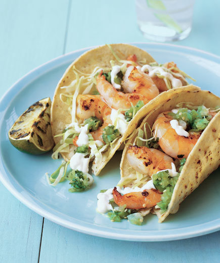 Grilled Shrimp Tacos | Easy Mexican Recipes - Real Simple