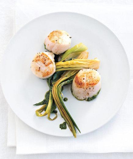how to clean scallops video
